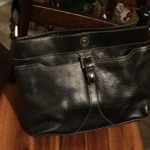 Awesome classic Etienne Aigner Black leather bag
